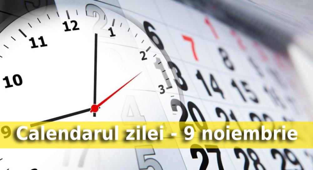 calendarul zilei