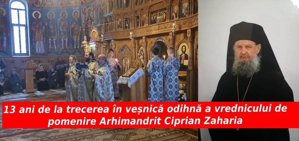 Arhimandrit Ciprian Zaharia