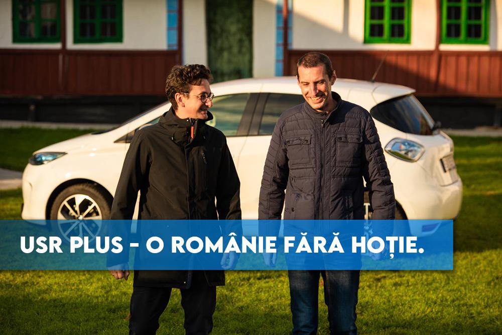 USR PLUS – O Românie fără hoție.