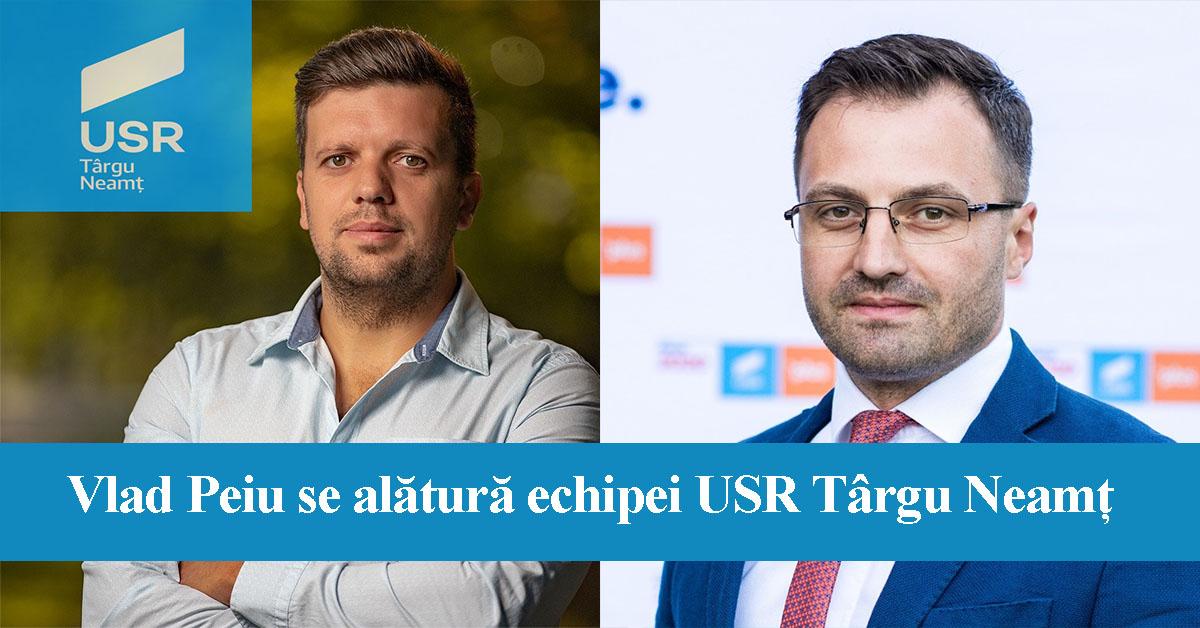 Vlad Peiu se alătură echipei USR Târgu Neamț