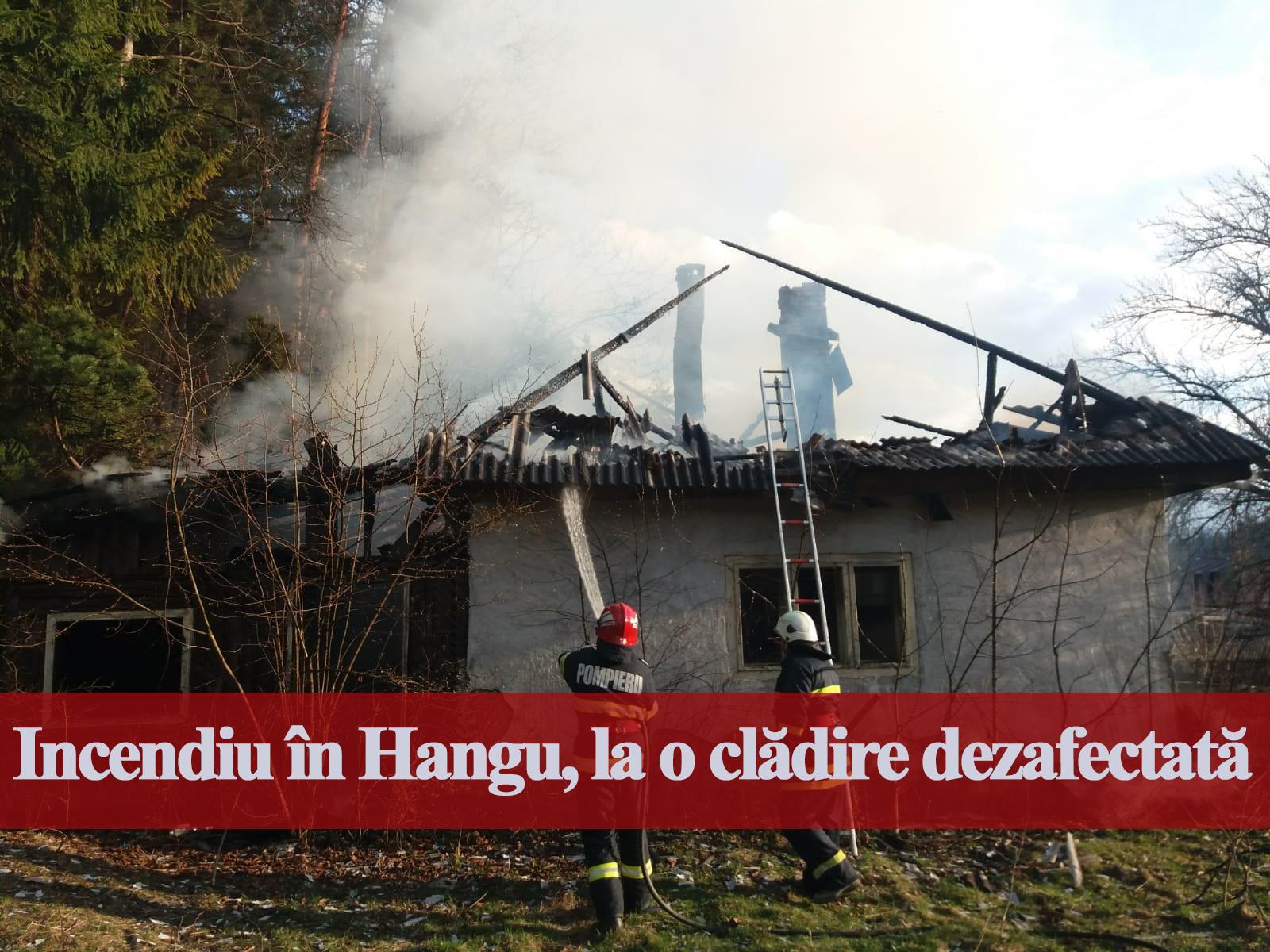 incendiu Hangu