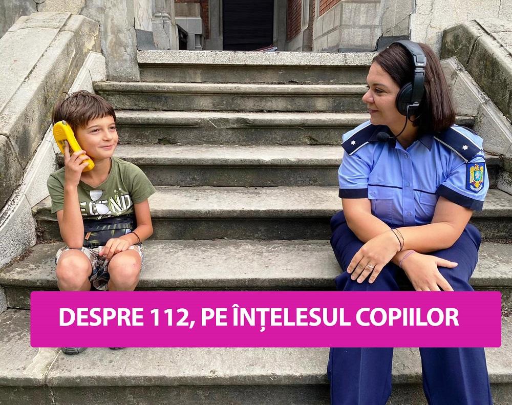 DESPRE 112, PE ÎNȚELESUL COPIILOR