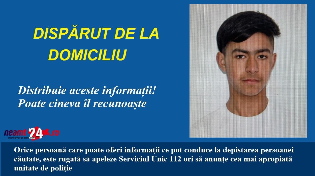 DISPARUT ROMAN GHIOCEL